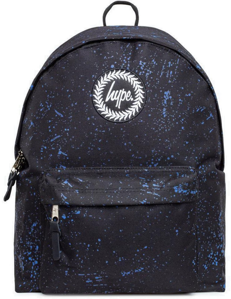 Hype Speckle Backpack Bag Black/Navy