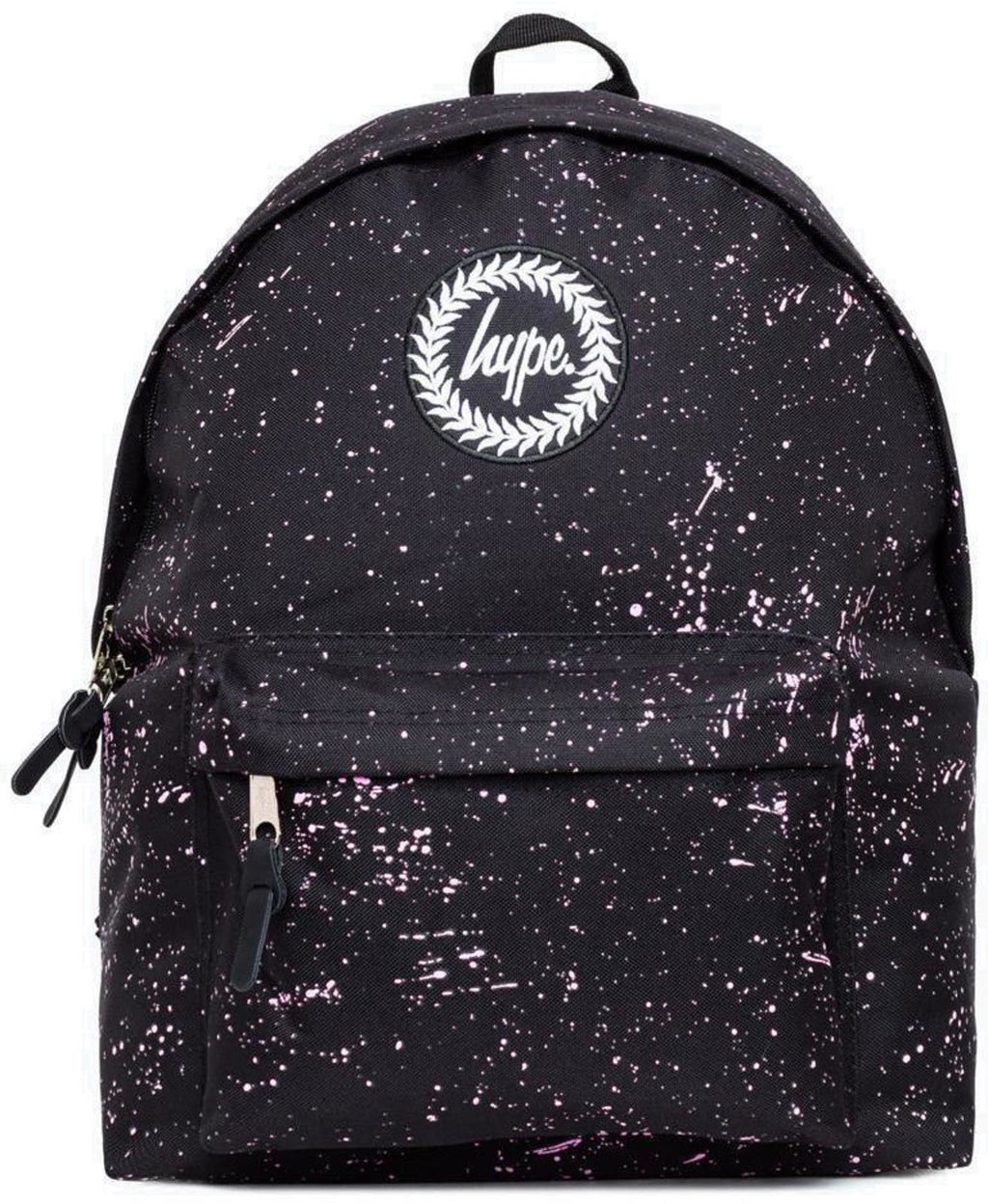 Hype Speckle Backpack Bag Black/Pink