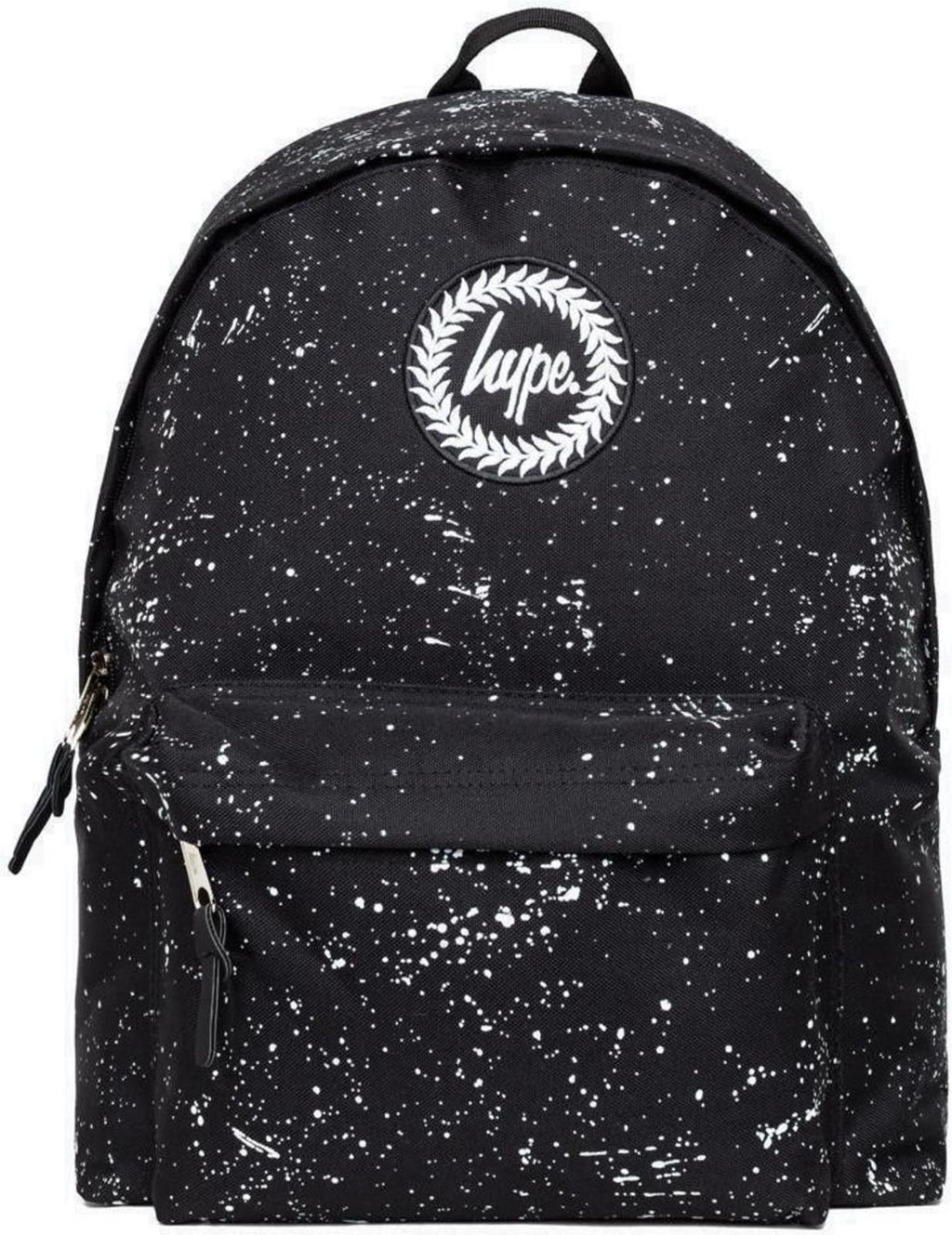 Hype Speckle Backpack Bag Black/White