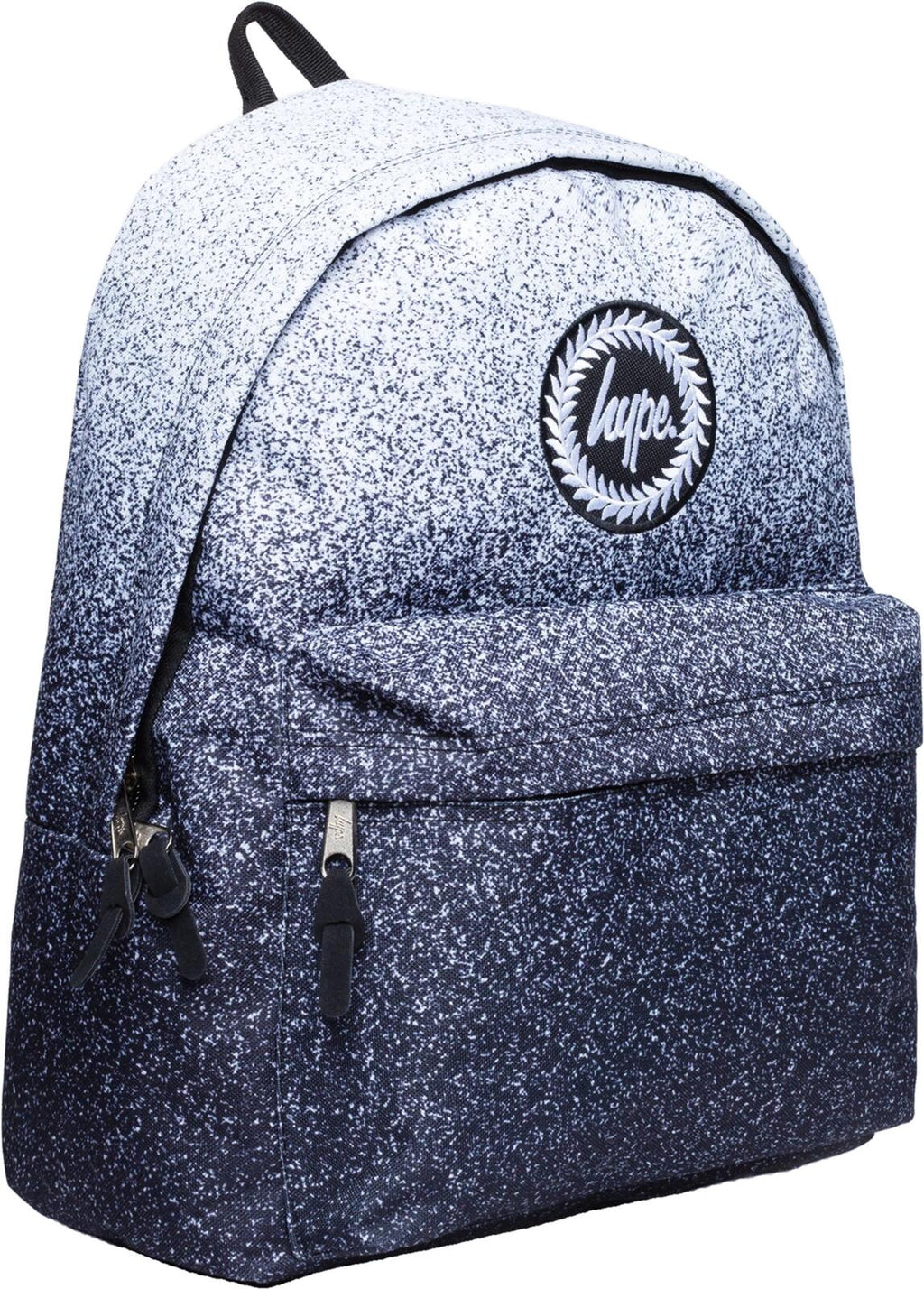 Hype Speckle Fade Backpack Bag Black
