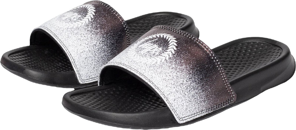 Hype Speckle Fade Crest Sliders Black