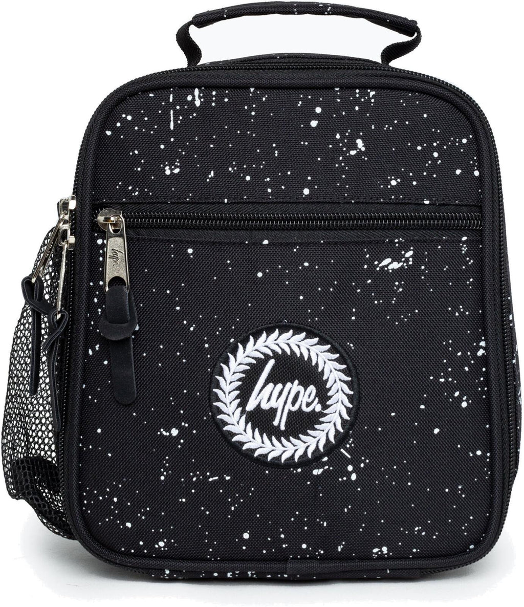 Hype Speckle Lunch Box Bag Black