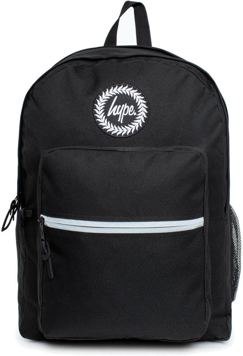 Hype Utility Backpack Bag Black