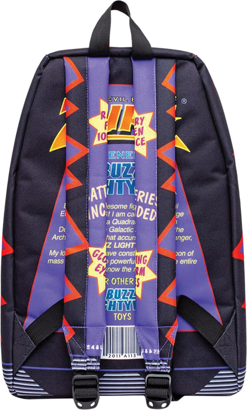 Hype Zurg Box Backpack Bag Blue Multi