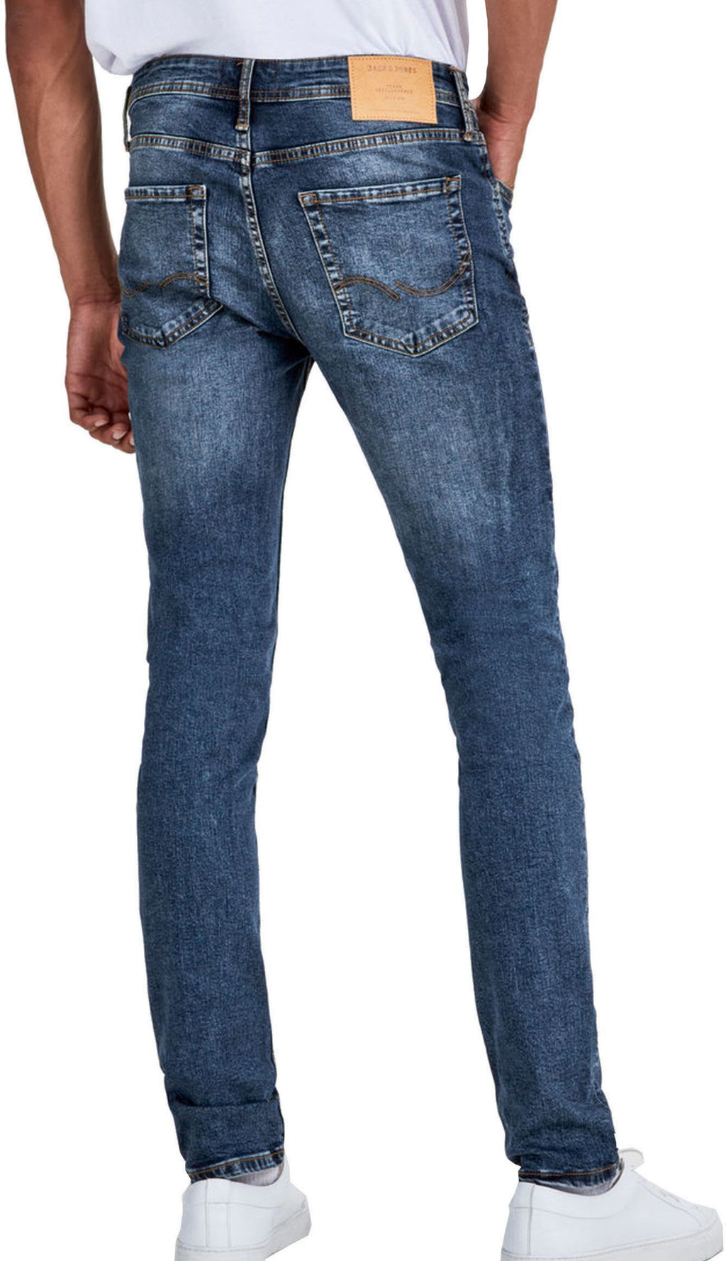 Jack & Jones Glenn Original 005 Slim Fit Denim Jeans Blue
