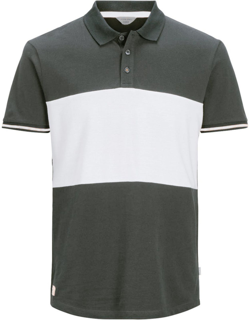 Jack & Jones Loop Polo Shirt Charcoal