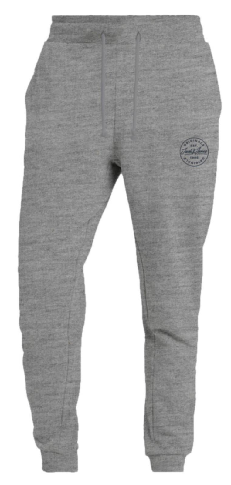 Jack & Jones More 2 Pack Jogger Bottoms Light Grey