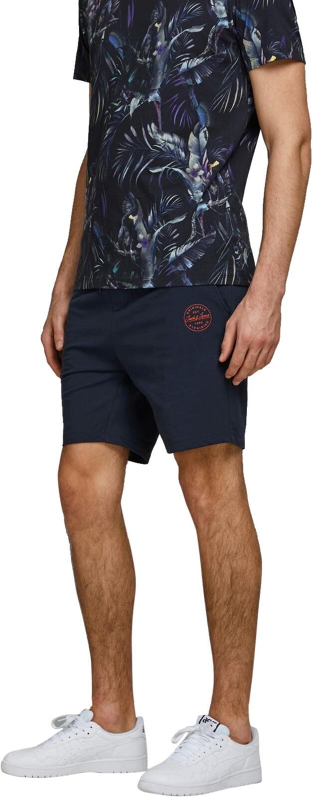 Jack & Jones Shark Sweat Shorts Navy
