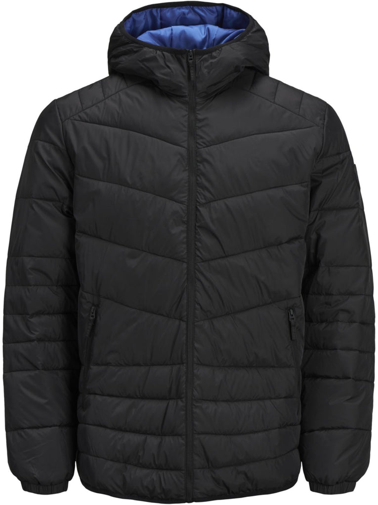 Jack & Jones Stone Lightweight Puffer Jacket Black