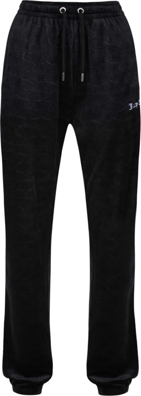 Juicy Couture Lilian Embossed Velour Bottoms	Black