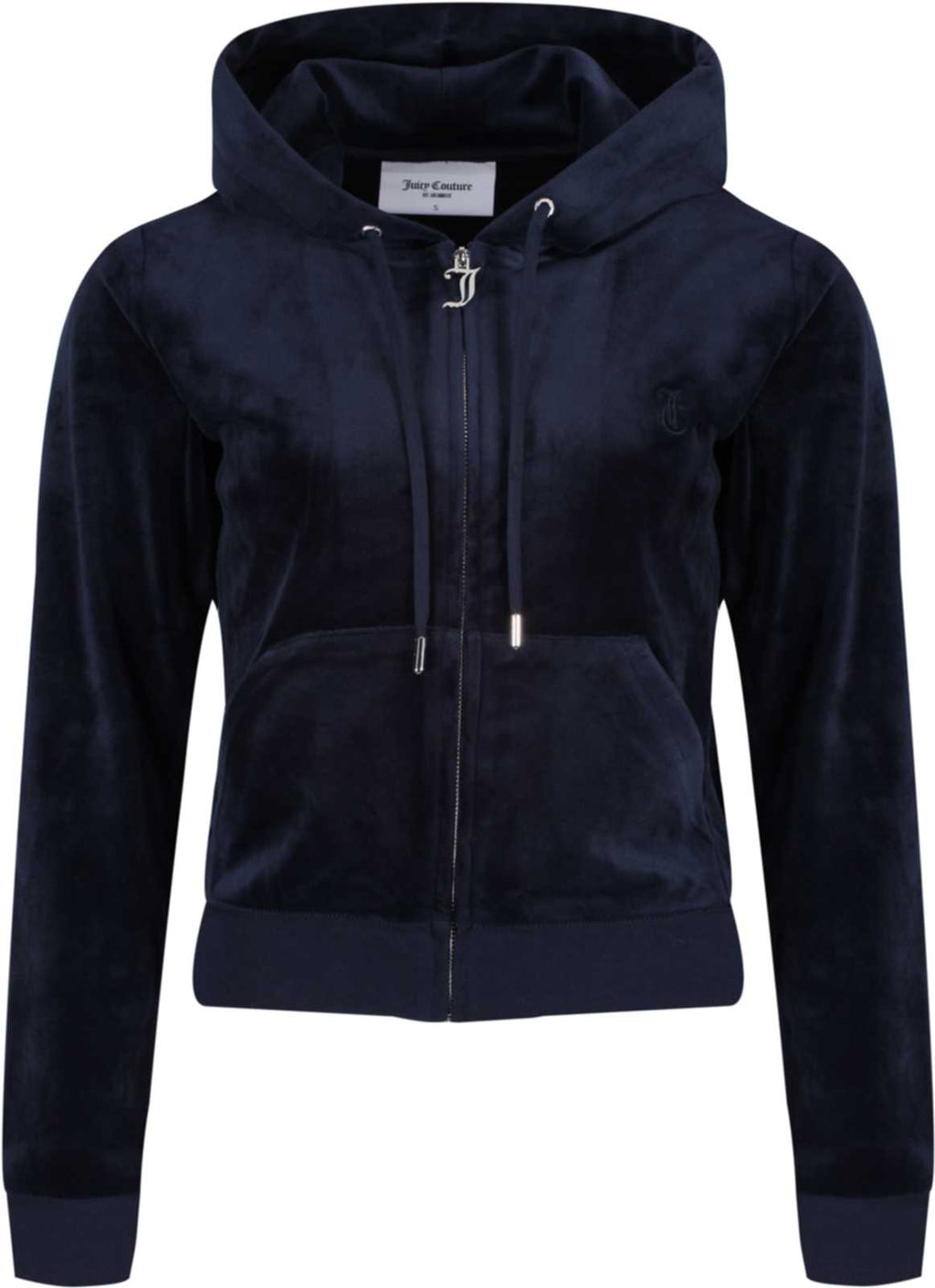 Juicy Couture Robertson Velour Zip Front Hoodie	Night Sky