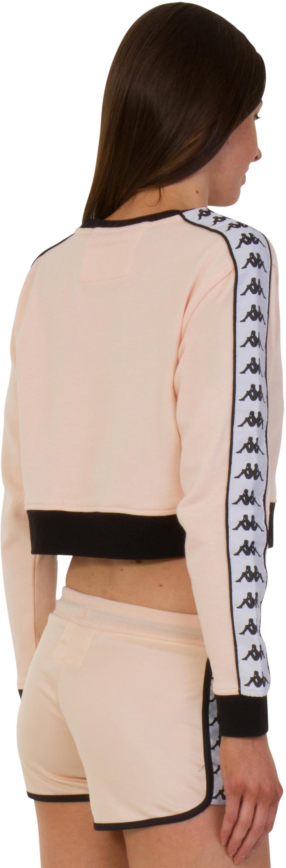 Kappa AYS Cropped Sweatshirt Peach