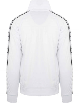 Kappa Anniston Zip Front Track Top White