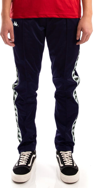 Kappa Astoria Snaps Jogger Bottoms Blue