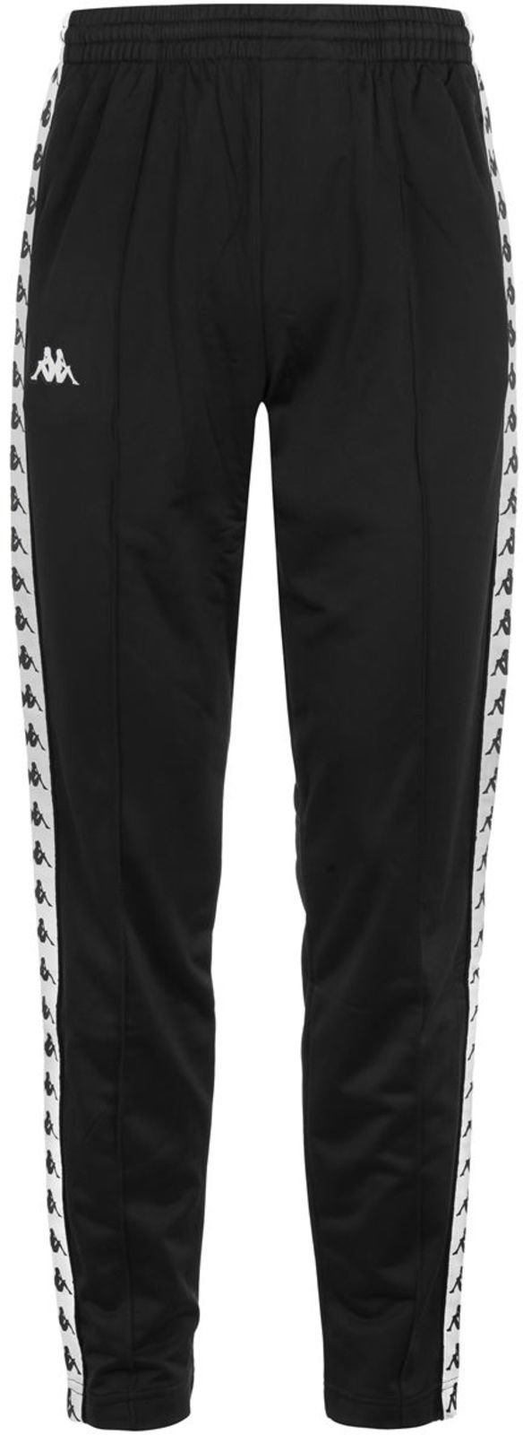 Kappa Astoria Slim Fit Track Pants Black