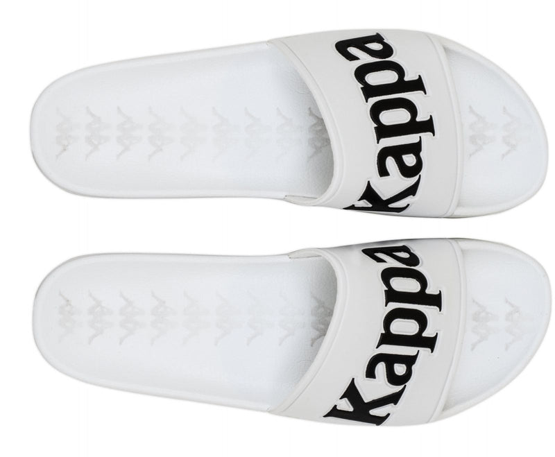 Kappa Authentic Adam 9 Sliders White