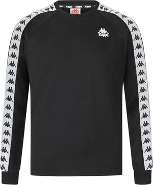 Kappa Auyen Long Sleeve T-Shirt Black