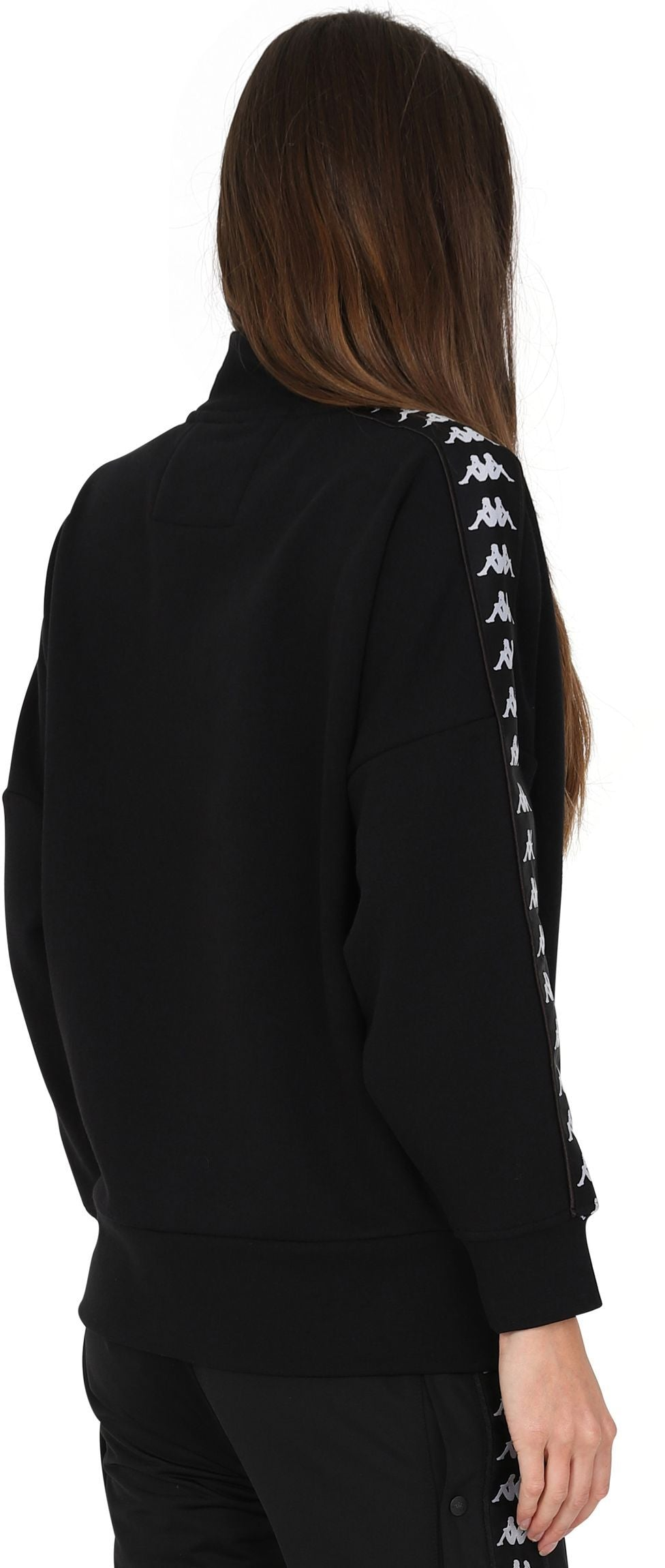 Kappa Women's Alkhe Oversized Sweatshirt Black