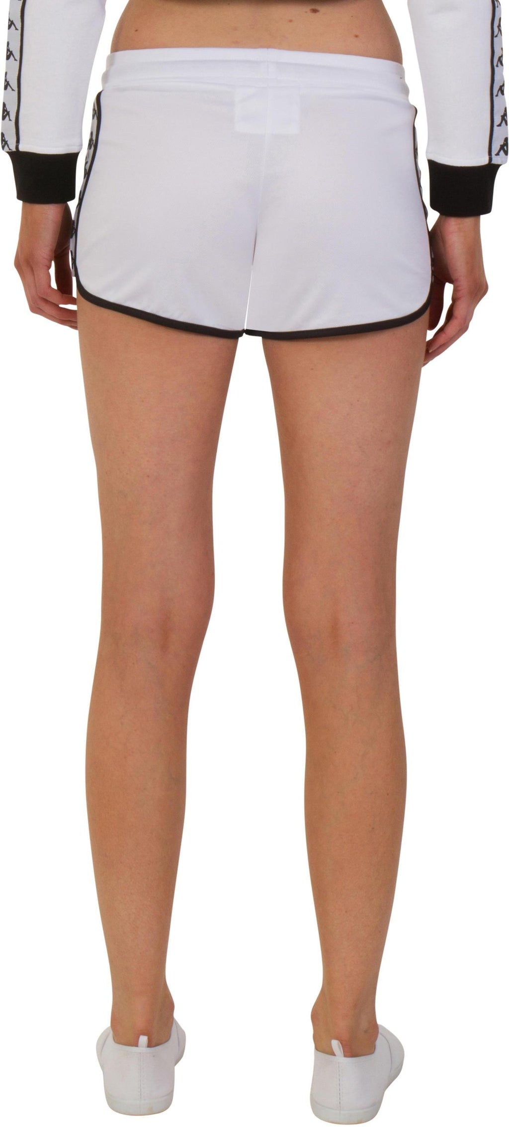 Kappa Women's Anguy Track Shorts White