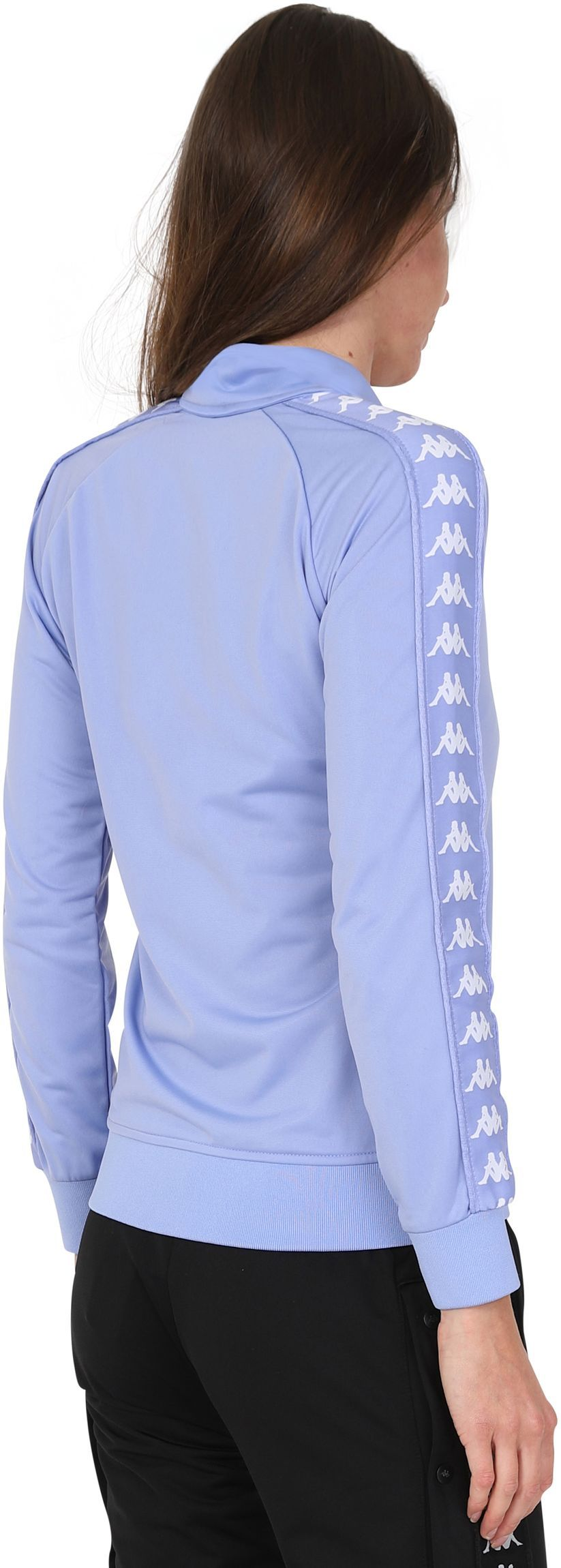 Kappa Women's Wanniston Zip Front Track Top Blue