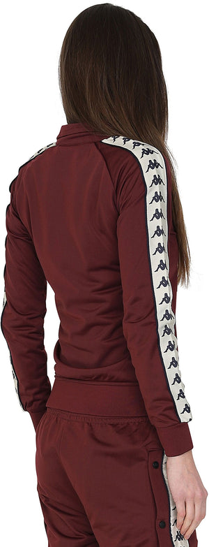 Kappa Women's Wanniston Zip Front Track Top Red