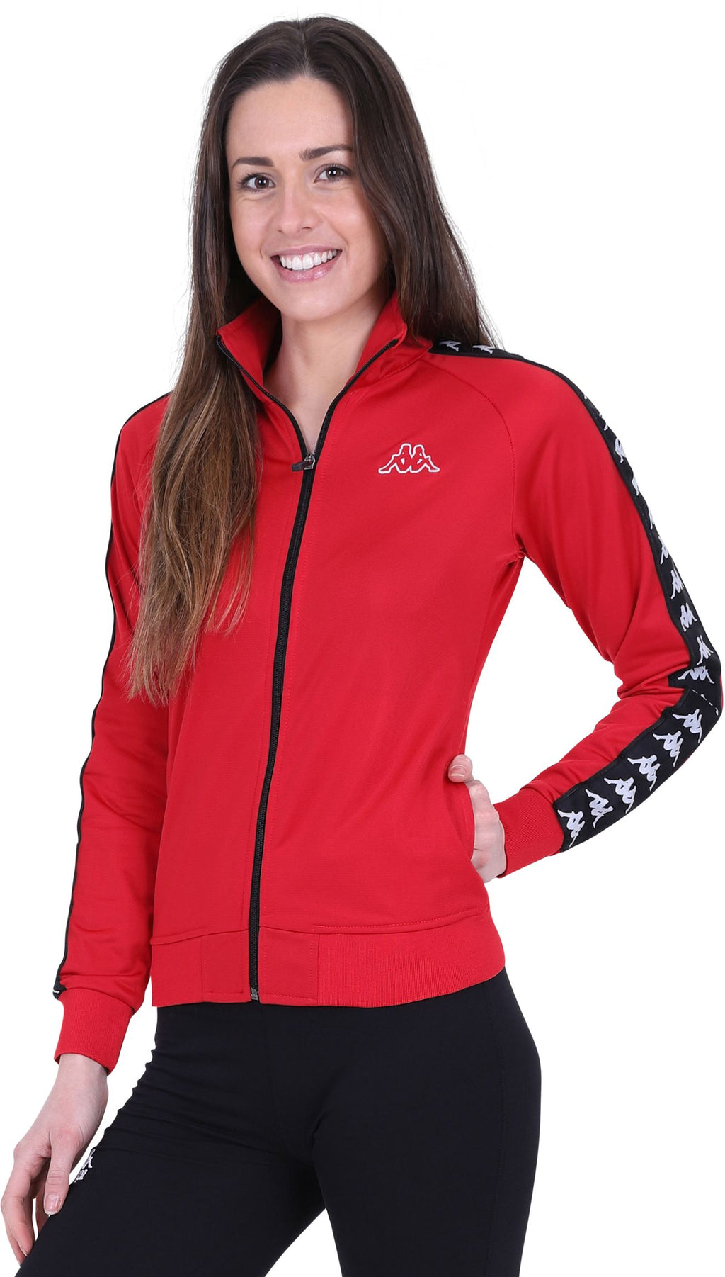 Kappa Women's Wanniston Track Top Red
