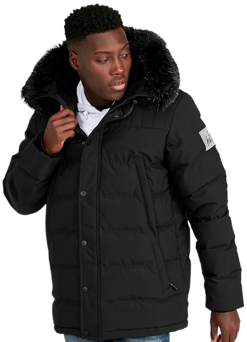 Kings Will Dream Frost Parka Jacket Black