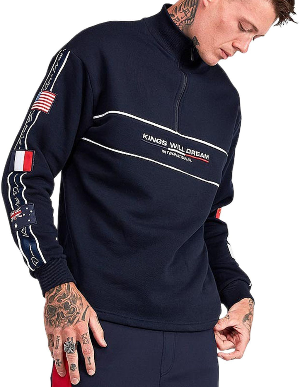 Kings Will Dream Largorce 1/4 Zip Track Top