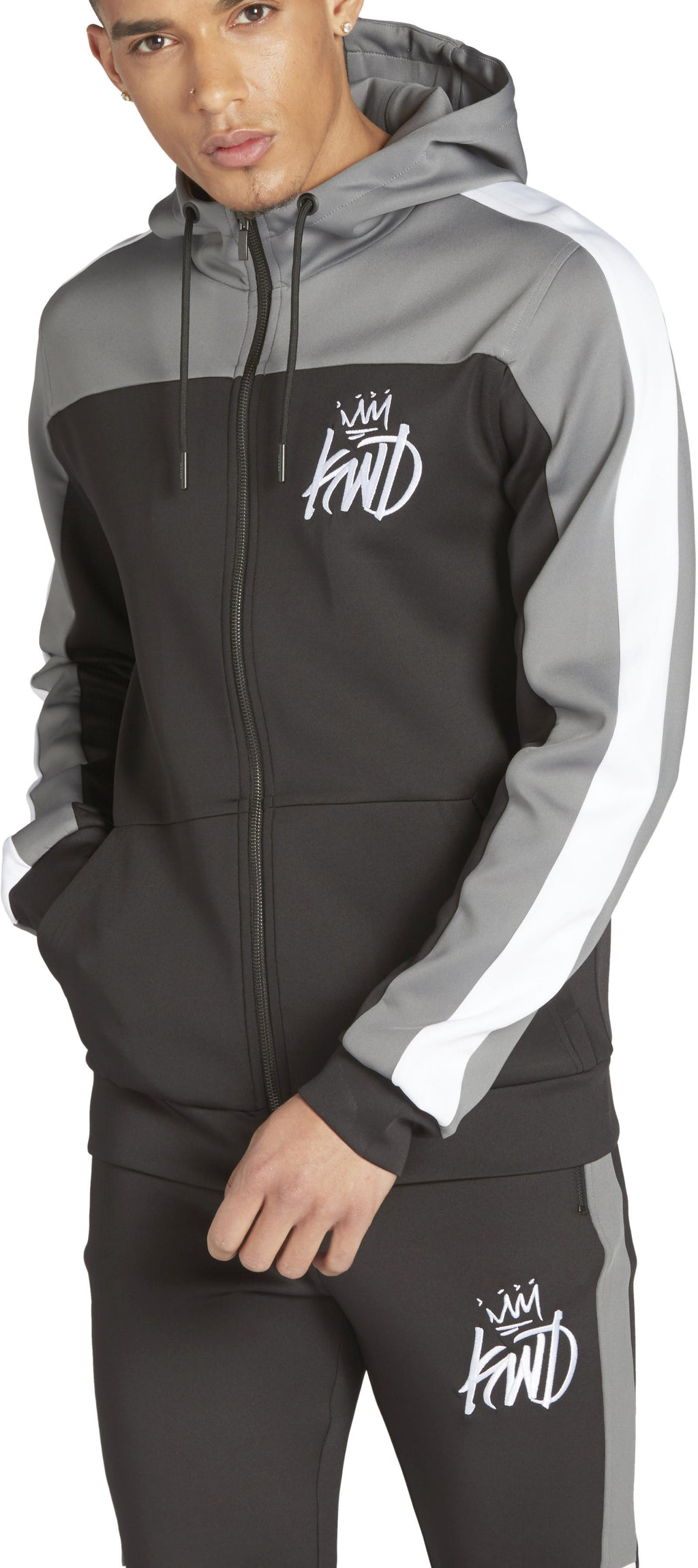 Kings Will Dream Mert Zip Front Poly Hoodie