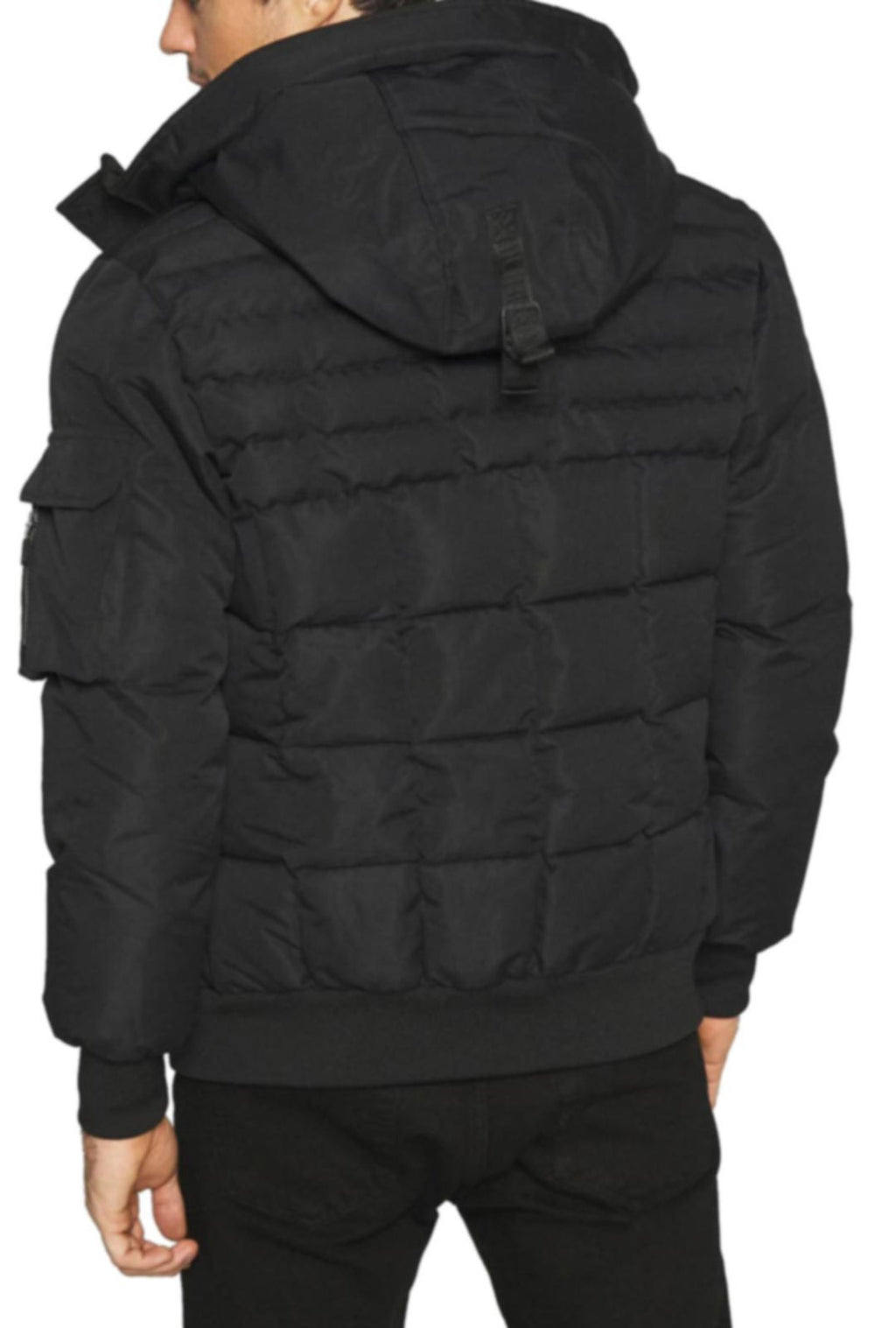 Kings Will Dream Milford Puffa Bomber Jacket Black