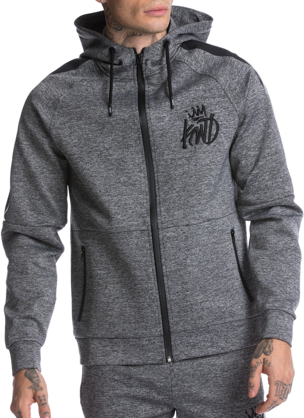 Kings Will Dream Nordon Zip Front Poly Hoodie