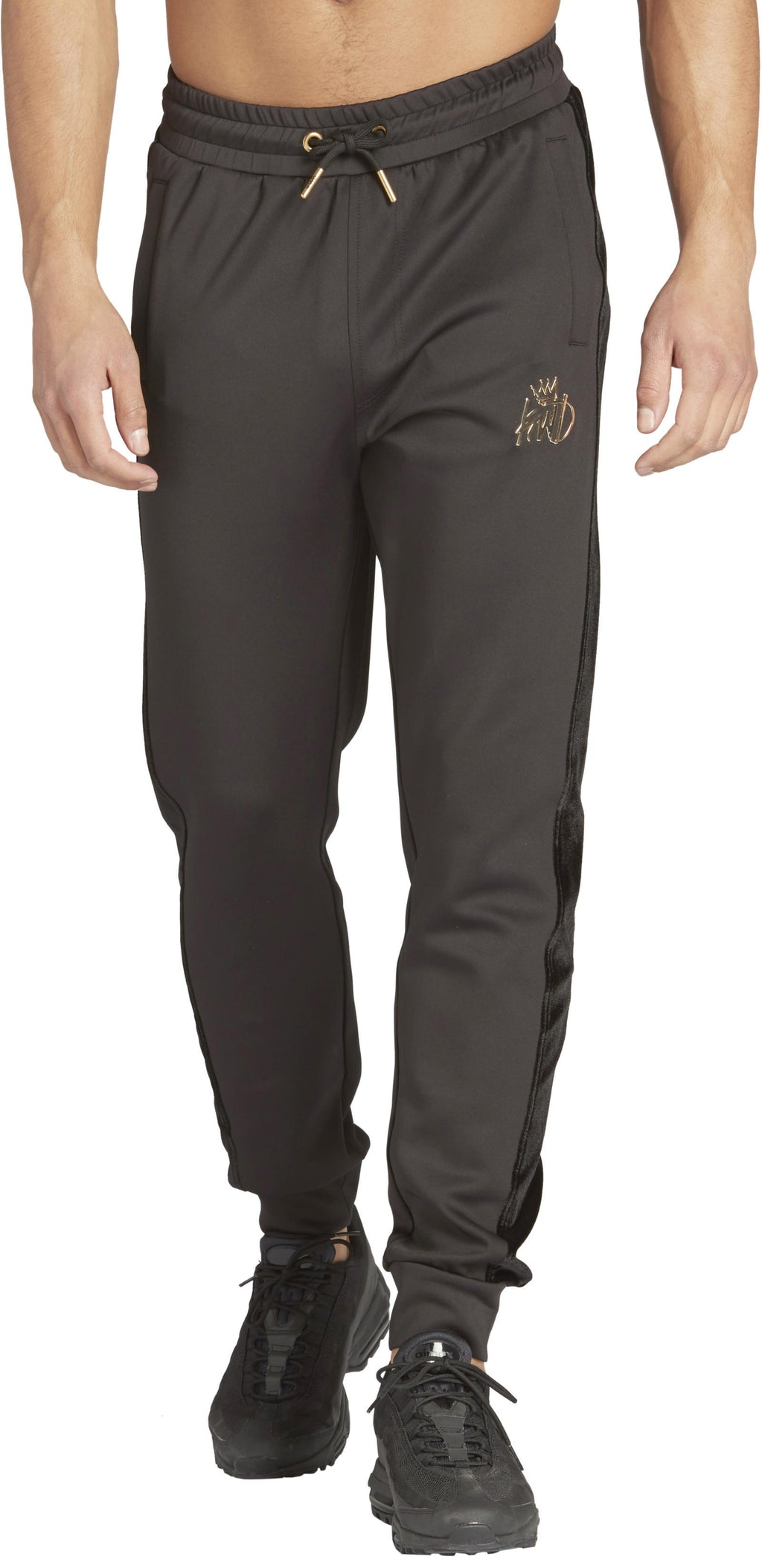 Kings Will Dream Searles Velour Panel Poly Jogger Bottoms