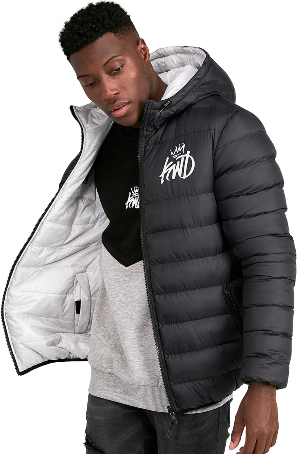 Kings-Will-Dream-Stretford-Reversible-Puffer-Jacket-Black