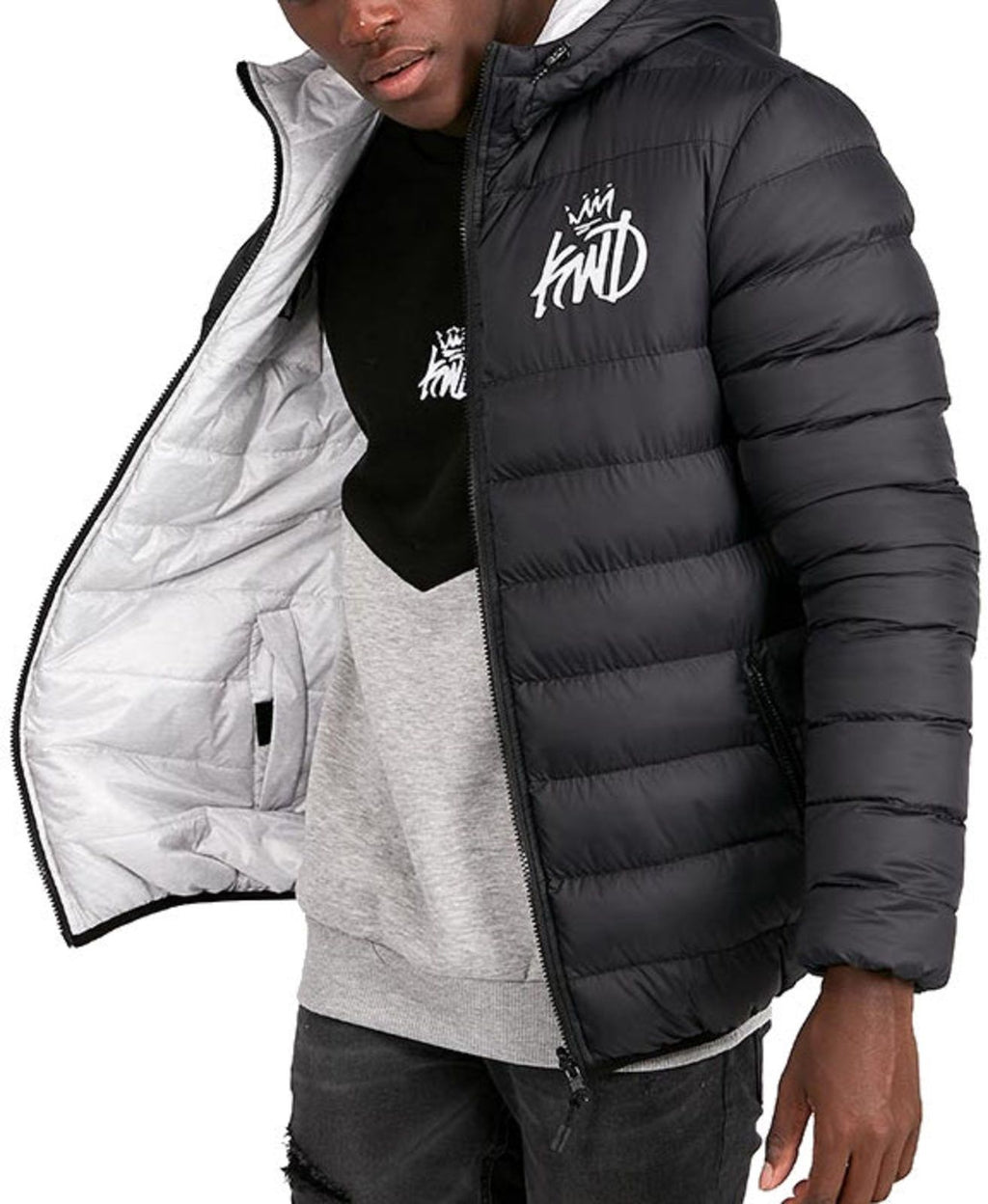 Kings Will Dream Stretford Reversible Puffer Jacket