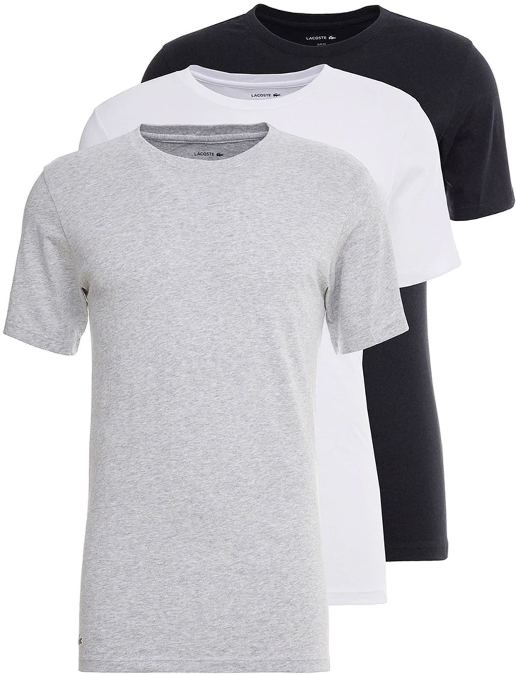 Lacoste 3 Pack Slim Fit T-Shirts