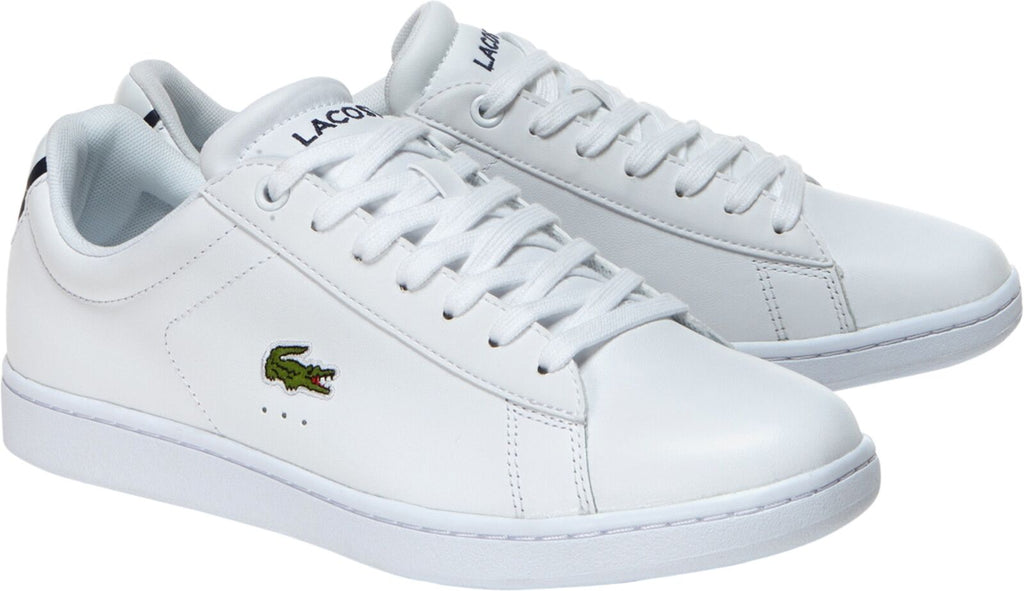 Lacoste Carnaby EVO BL 1 Leather Trainers White