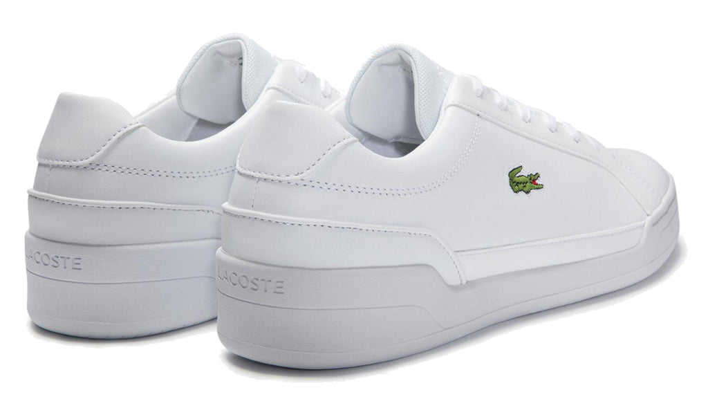 Lacoste Challenge 0120 2 SMA Leather Trainers White