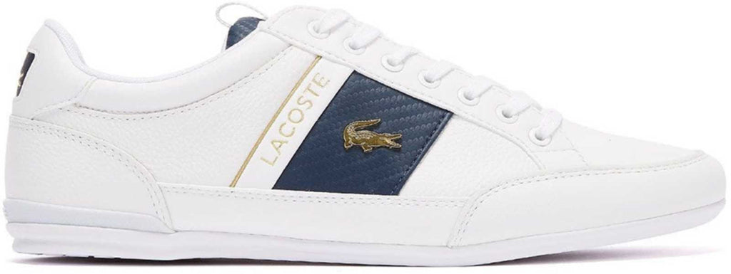 Lacoste Chaymon 120 1 CMA Leather Trainers	White