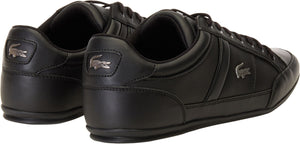 Lacoste Chaymon BL 1 Leather Trainers Black