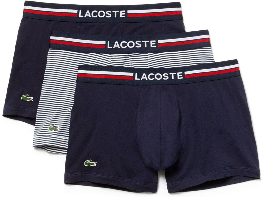 Lacoste Colours French Flag 3 Pack Boxer Shorts