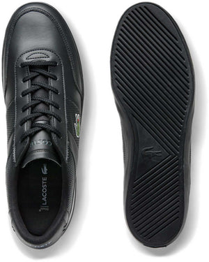 Lacoste Court-Master 120 1 CMA Leather Trainers Black