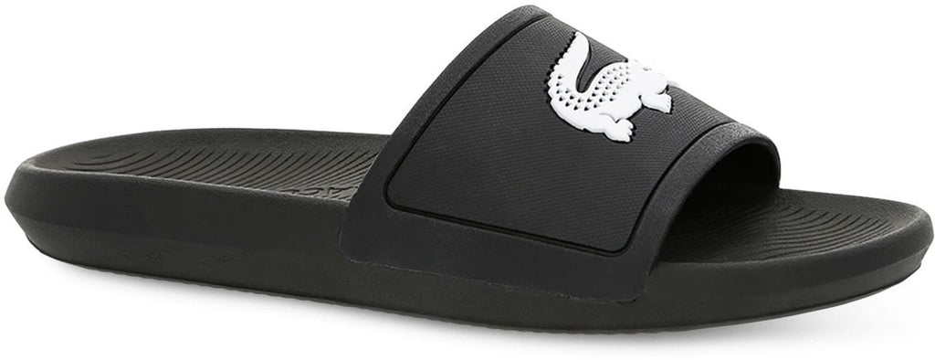 Lacoste Women's Croco 119 1 CFA Sliders Black