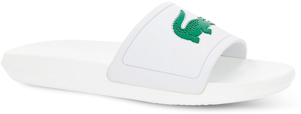 Lacoste Women's Croco 119 1 CFA Sliders White