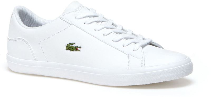 fb45d142f34b Lacoste Lerond Leather Trainers White – UKK