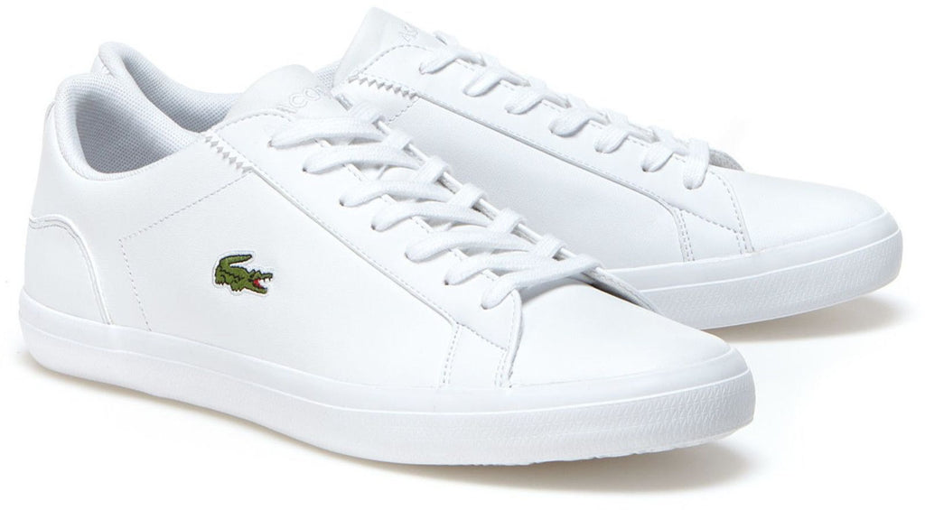 Lacoste Lerond Leather Trainers White