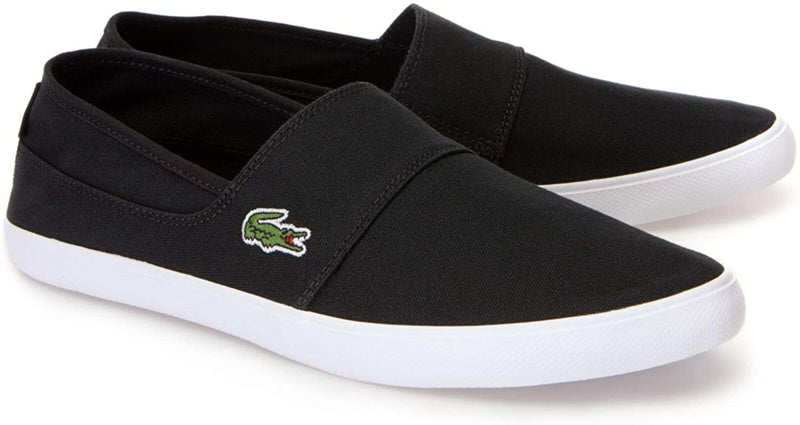 Lacoste Marice BL 2 Canvas Slip-on Shoes Black