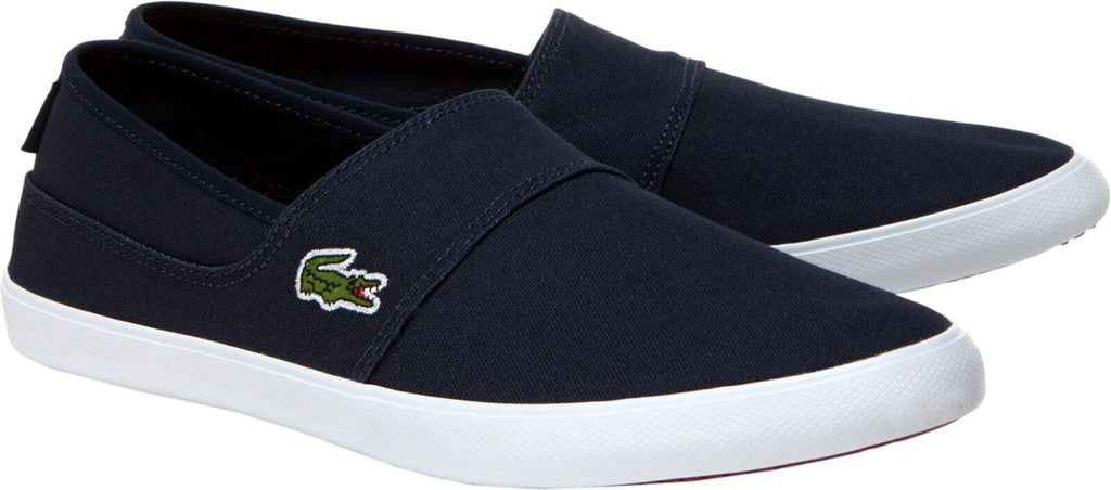 Lacoste Marice BL 2 Canvas Slip-on Shoes Navy