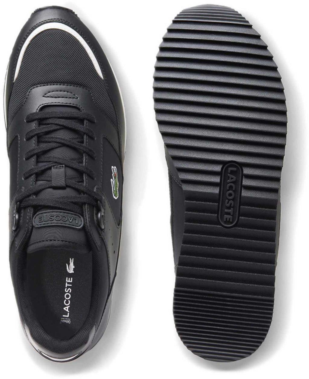 Lacoste Partner Piste 120 SMA Trainers Black
