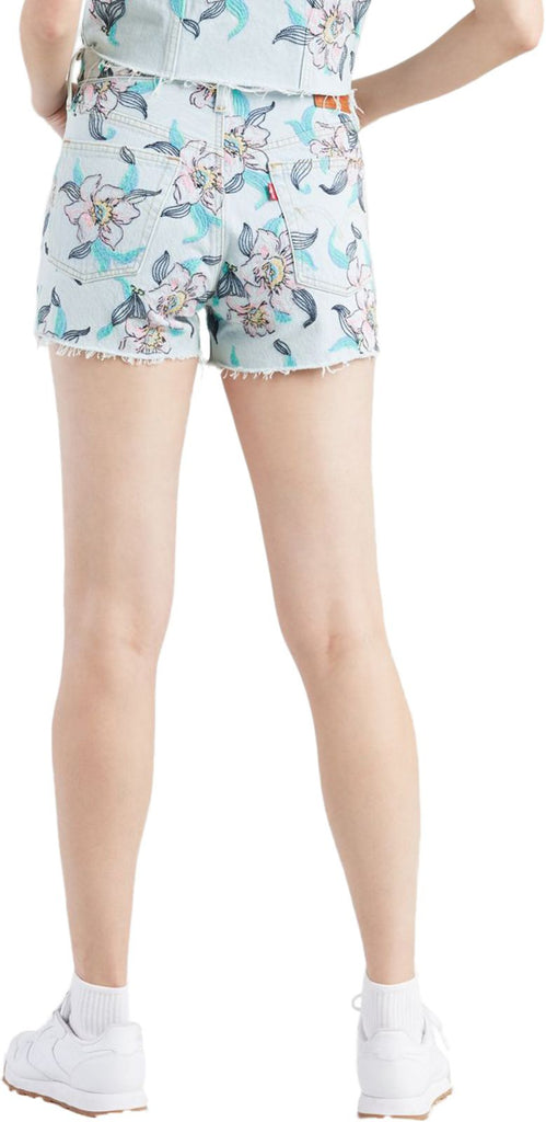 Levi's 501 High Waisted Denim Shorts