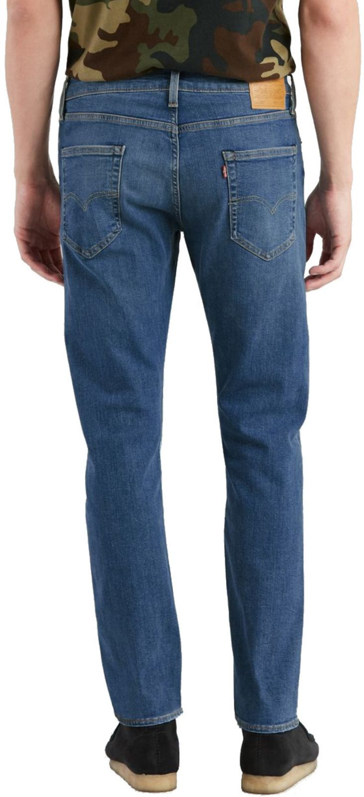 Levi's 502 Regular Taper Fit Denim Jeans Crocodile Adapt Blue